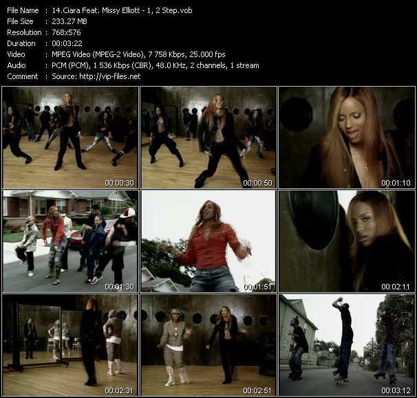 Ciara Feat. Missy Elliott video screenshot