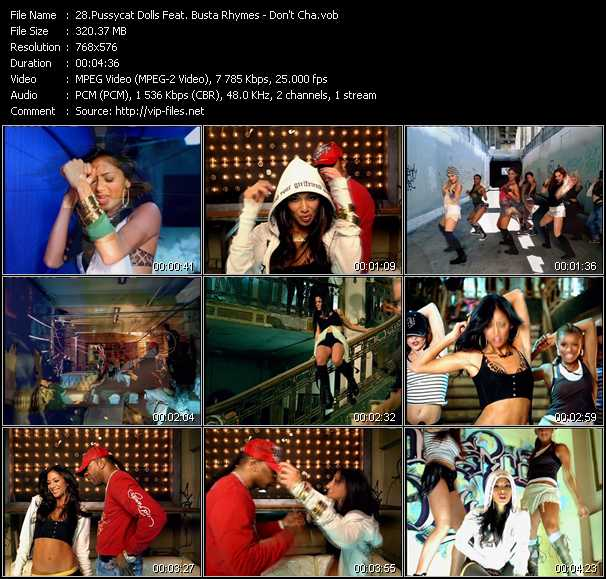 Pussycat Dolls Feat. Busta Rhymes video screenshot
