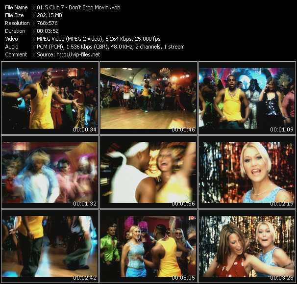 S Club 7 video screenshot