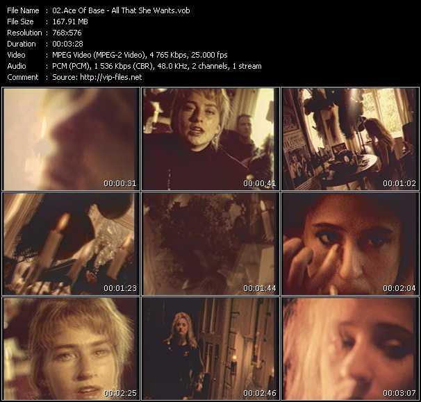 Ace Of Base video screenshot