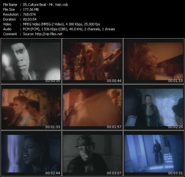 Culture Beat video screenshot