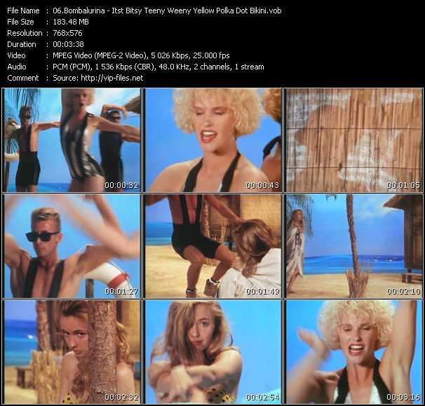 Bombalurina video screenshot