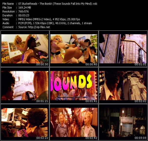 Bucketheads video screenshot