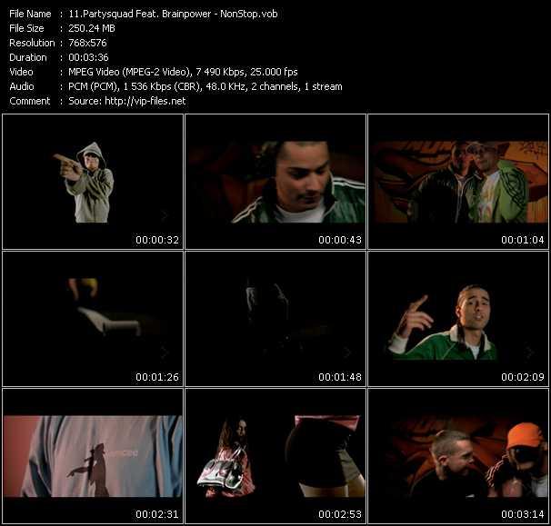 Partysquad Feat. Brainpower video screenshot