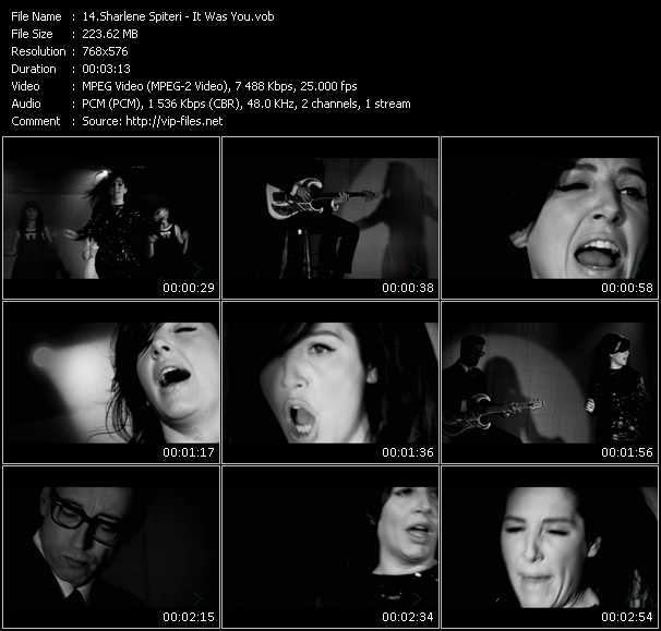 Sharleen Spiteri video screenshot