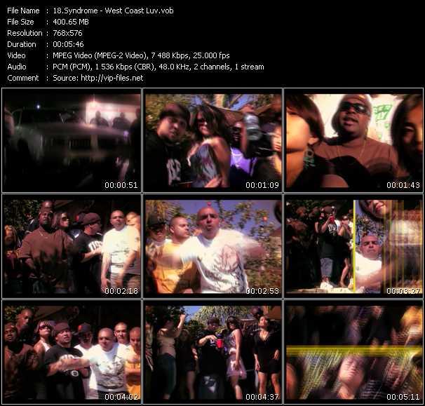 Syndrome video screenshot