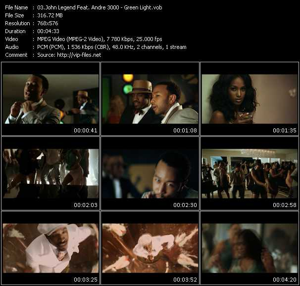 John Legend Feat. Andre 3000 video screenshot