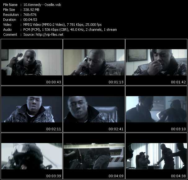 Kennedy video screenshot