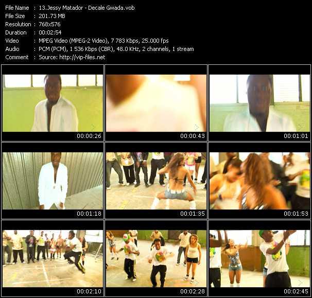 Jessy Matador video screenshot