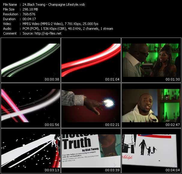 Black Twang video screenshot