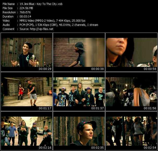 Jimi Blue video screenshot