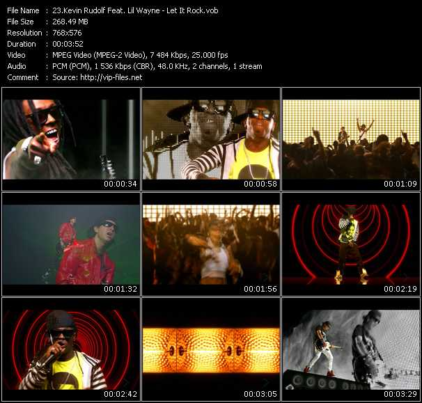 Kevin Rudolf Feat. Lil' Wayne video screenshot