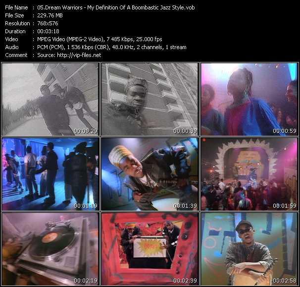 Dream Warriors video screenshot