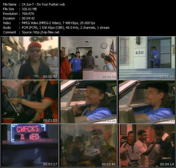 video I'm Your Pusher screen