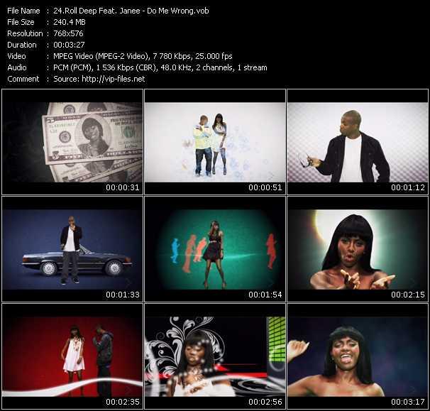 Roll Deep Feat. Janee video screenshot