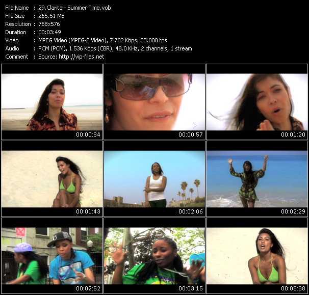 Clarita video screenshot
