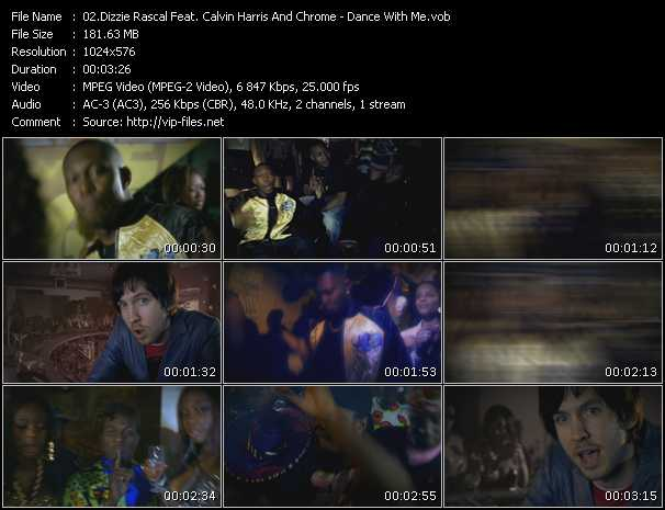 Dizzee Rascal Feat. Calvin Harris And Chrome video screenshot