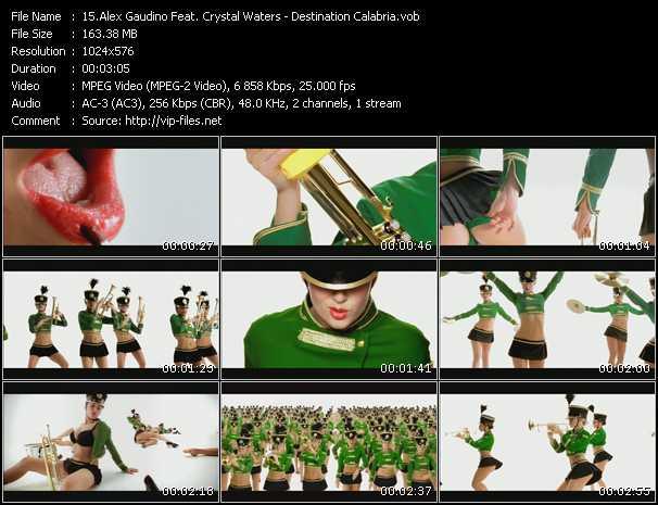 Alex Gaudino Feat. Crystal Waters video screenshot