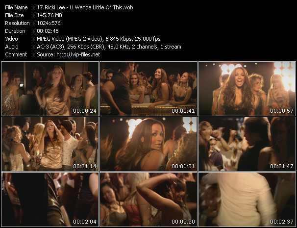 Ricki Lee video screenshot