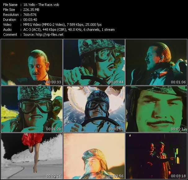 Yello video screenshot