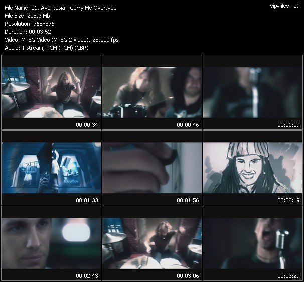 Avantasia video screenshot