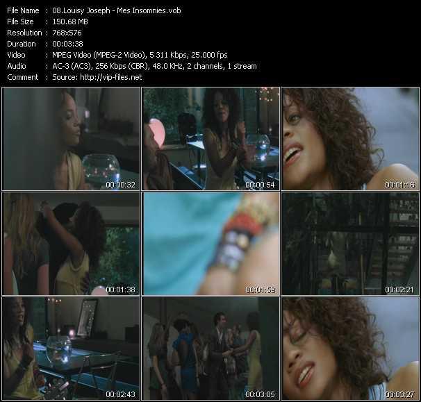 Louisy Joseph video screenshot