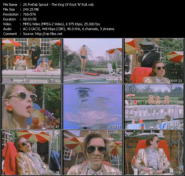 Prefab Sprout video screenshot