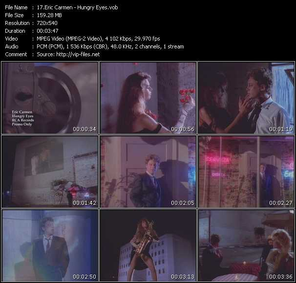 Eric Carmen video screenshot