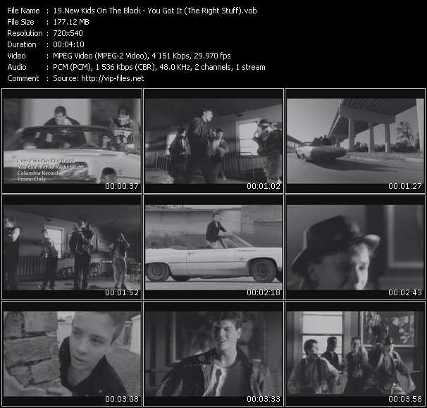 New Kids On The Block video screenshot