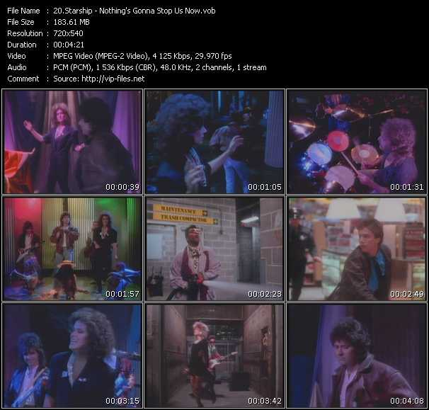 Starship (Jefferson Starship) video screenshot