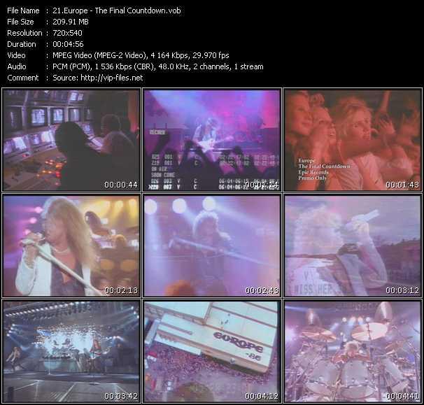 Europe video screenshot
