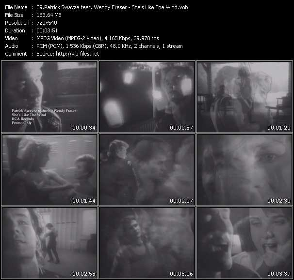 Patrick Swayze Feat. Wendy Fraser video screenshot