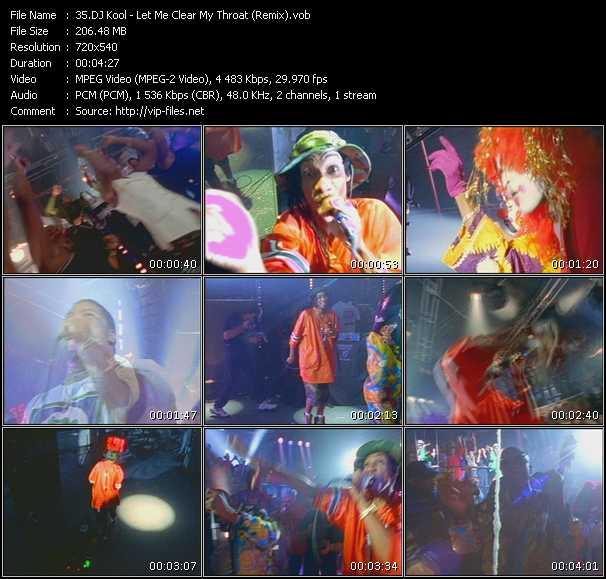 Dj Kool video screenshot