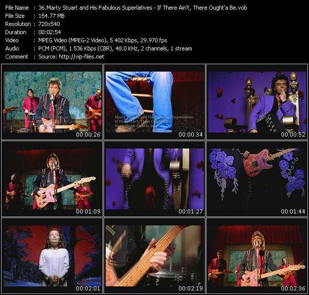 Marty Stuart And His Fabulous Superlatives video screenshot