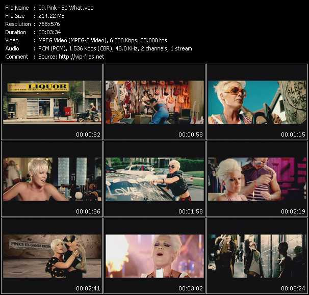 Pink video screenshot