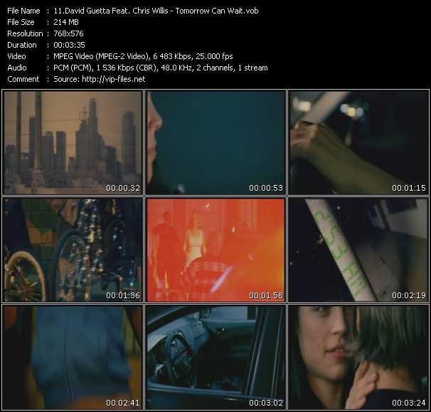 David Guetta And Chris Willis video screenshot