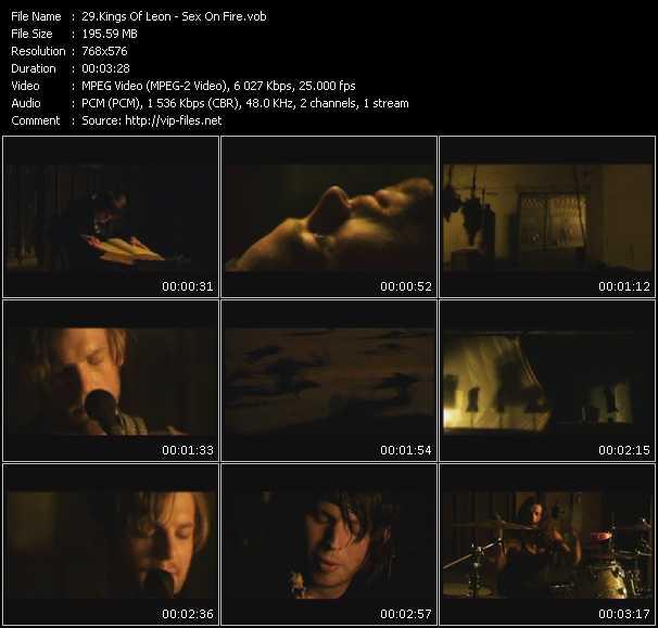Kings Of Leon video screenshot