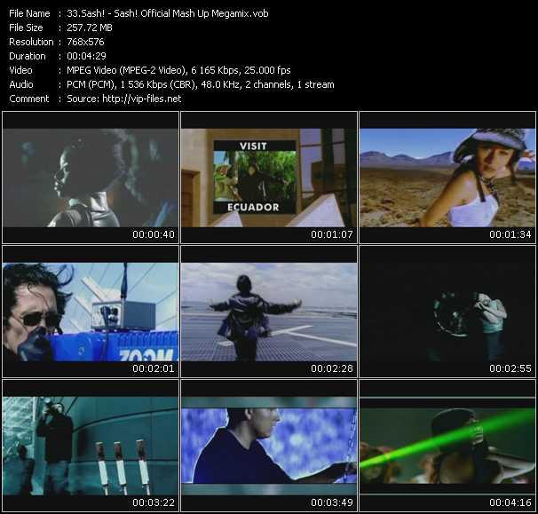 Sash! video screenshot
