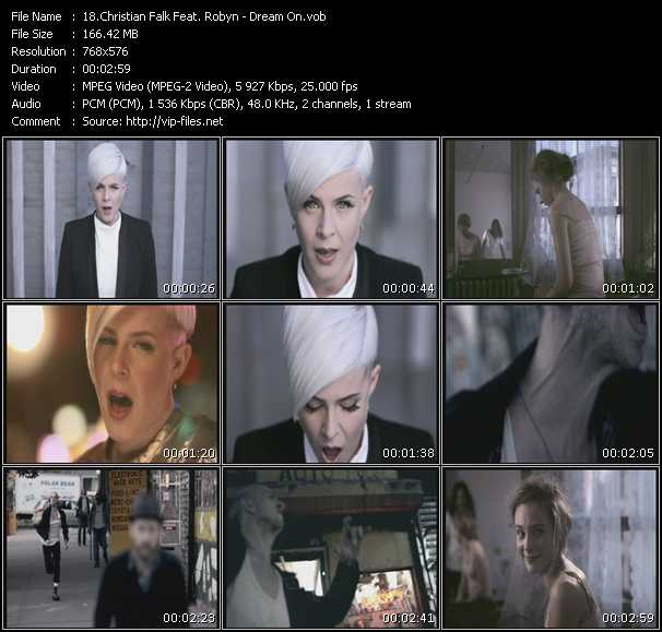 Christian Falk Feat. Robyn video screenshot