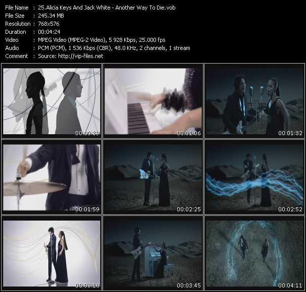 Alicia Keys And Jack White video screenshot