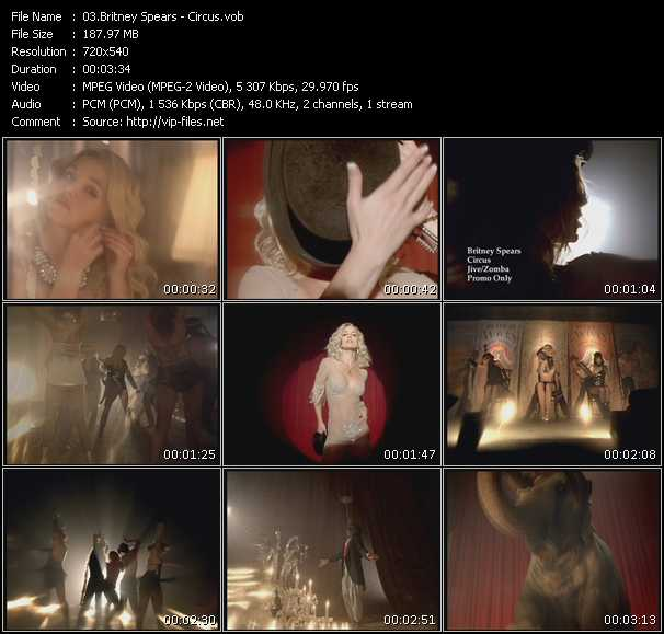 Britney Spears video screenshot