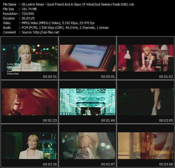 LeAnn Rimes video screenshot