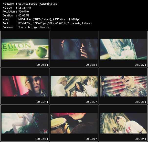 Jinga Boogie video screenshot