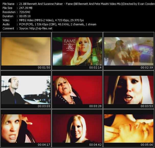 video Fame (Bill Bennett And Pete Masitti Video Mix) Directed by Evan Cowden screen