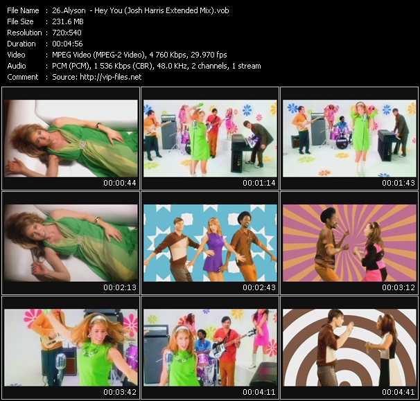 Alyson video screenshot