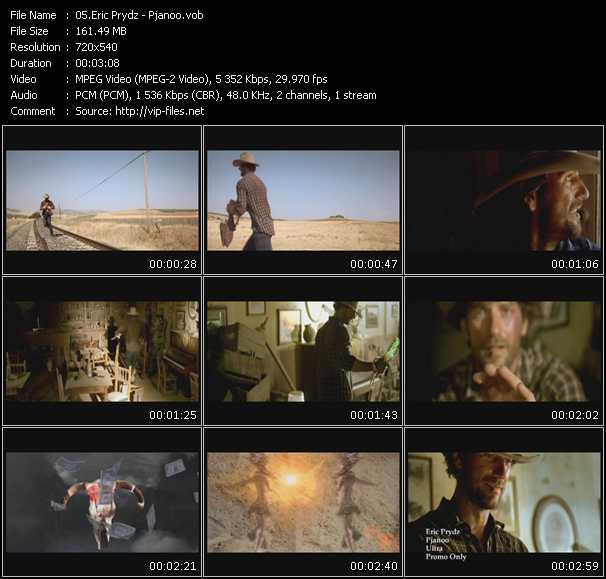 video Pjanoo screen