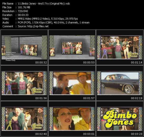 Bimbo Jones video screenshot