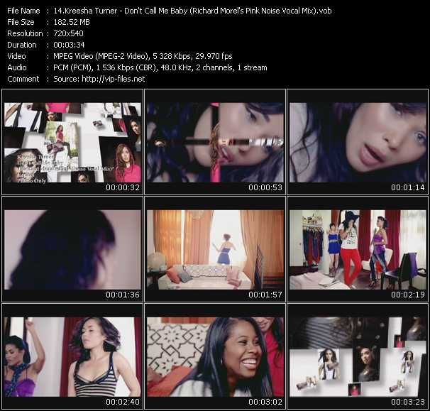 Kreesha Turner video screenshot