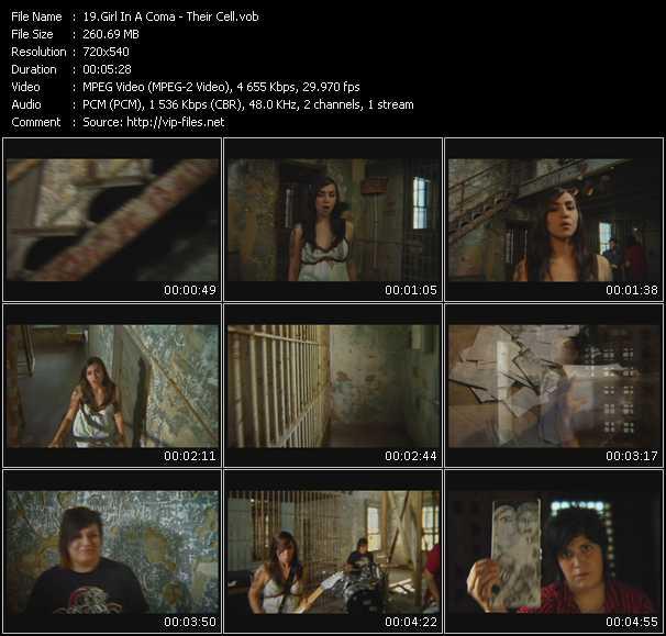 Girl In A Coma video screenshot