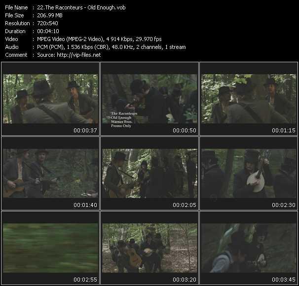 Raconteurs video screenshot